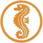 Webabzeichen Seepferdchen